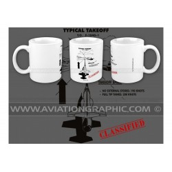 "MUG ""STARFIGHTER, take off"" AVG-041"