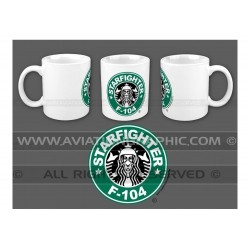 "MUG ""STARBUCKSFIGHTER"" AVG-080"