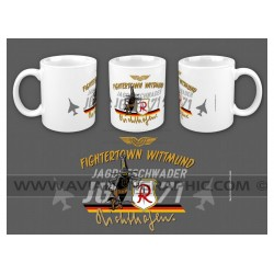 "MUG ""FIGHTERTOWN WITTMUND"" AVG-063"