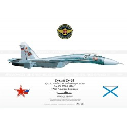 "Su-33 ""Flanker-D"" 86 red Russia SK-16"