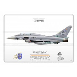 "EF-2000T ""Typhoon"" 30+20 JG73 ""S"" Luftwaffe JP-1209"