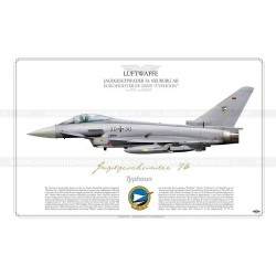 "EF-2000S ""Typhoon"" 30+30 JG74 ""M"" Luftwaffe JP-892"