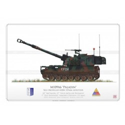 "M109A6 ""Paladin"" KFOR HCP-12"