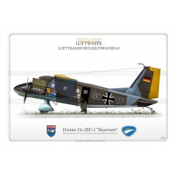 "Do.28D-2  ""Skyservant"" 58+26 Luftwaffe LTG63 JP-1290"