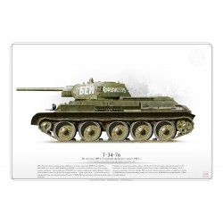 T-34-76 CCCP Red Army ARO-04