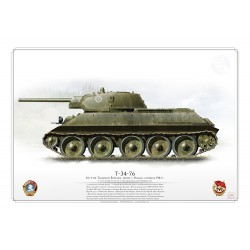 T-34-76 CCCP Red Army ARO-03