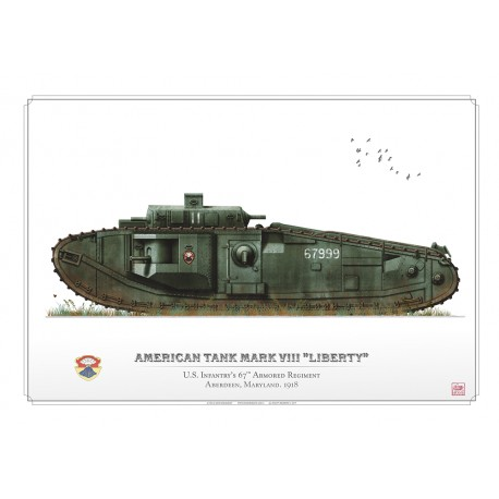 "American Tank Mark VIII ""Liberty"" DB-22"