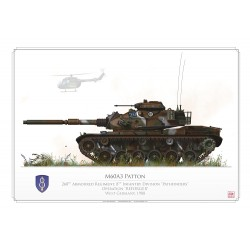 """M60A3 """"Patton"""" USARMY Operation REFORGER 1988 DB-35"""