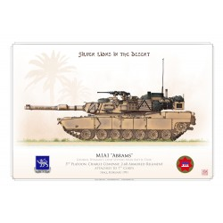 "M1A1 ""Abrams"" USARMY ""Silver Lions"" HCP-22"