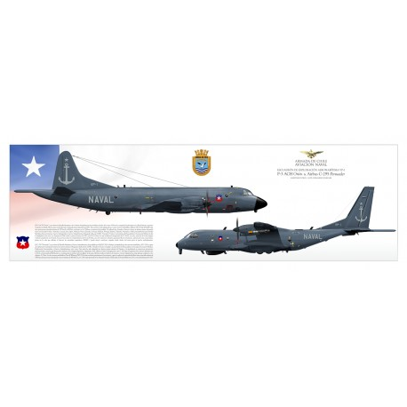 """Orion & Persuader"" Chilean Navy JP-2495P"
