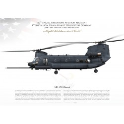 """MH-47G """"Chinook"""" 160th SOAR USARMY JP-2465"""