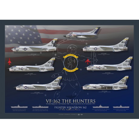 """VF-162 """"The Hunters"""" lineage collection MB-104L"""