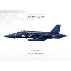 "F/A-18C VFA-106 ""Gladiators"" JP-1096"
