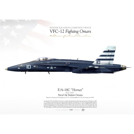 "F/A-18C VFC-12 ""Fighting Omars"" JP-1097"