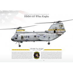 "CH-46E ""Sea Knight"" HMM-165 ""White Knights"" JP-1151"