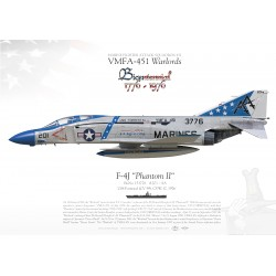 "F-4J ""Phantom II"" VMFA-451 MB-28"
