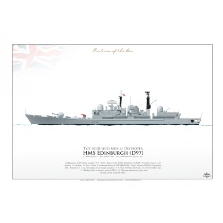 HMS Edinburgh (D97) AN-08