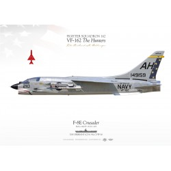 "F-8C ""Crusader"" VF-162 ""The Hunters"" MB-99"