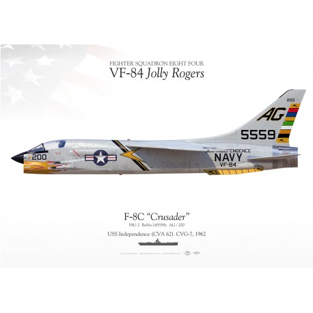 "F-8C ""Crusader"" VF-84 MB-49"