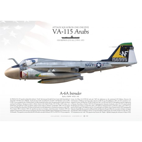"A-6A ""Intruder"" VA-115 ""Arabs"" MB-125"