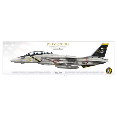 "F-14A ""Tomcat"" VF-84 ""Jolly Rogers"" DP-17P"