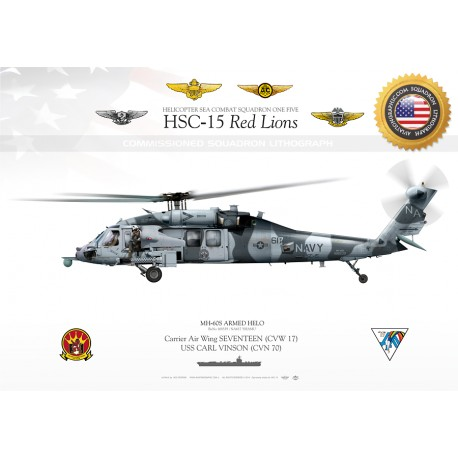 MH-60S ARMED HELO HSC-15  JP-1733B