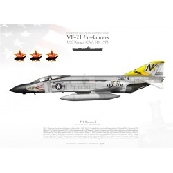 "F-4J ""Phantom II"" 202 VF-21 ""Freelancers"" LW-09"