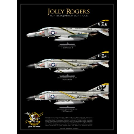 "F-4B/J/N ""Phantom II"" VF-84 ""Jolly Rogers"" JP-742"