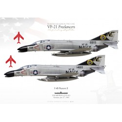 "F-4B ""Phantom II"" VF-21 ""Freelancers"" MB-62"