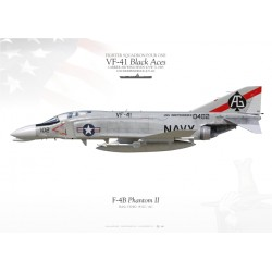 "F-4B ""Phantom II"" VF-41 ""Black Aces"" MB-62"