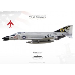 "F-4B ""Phantom II"" VF-21 ""Freelancers"" MB-60"