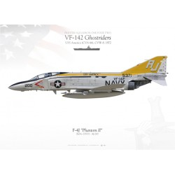 "F-4J ""Phantom II"" VF-142 ""Ghostriders"" MB-84"