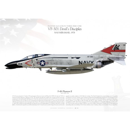 "F-4N ""Phantom II"" VF-301 ""Devil's Disciples"" MB-67"