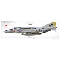 "F-4J ""Phantom II"" VF-142 ""Ghostriders"" MB-88P"