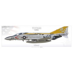 "F-4J ""Phantom II"" VF-142 ""Ghostriders"" MB-84P"