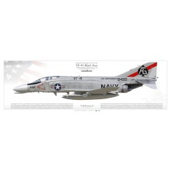"F-4B ""Phantom II"" VF-41 ""Black Aces"" MB-64P"