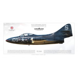 "F9F-3 ""Panther"" VF-51 MB-137SP"