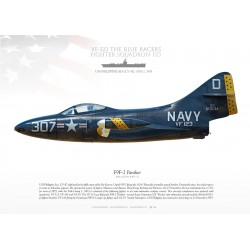 "F9F-2 ""Panther"" VF-123 MB-138"