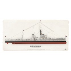 HMS Dreadnought WW1 MFU-02BSP
