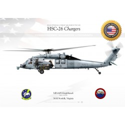 "MH-60S ""Knighthawk"" HSC-26 ""Chargers"" JP-1438"