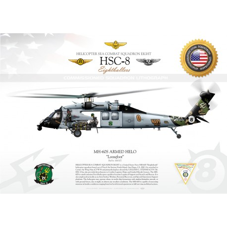 MH-60S ARMED HELO HSC-8 JP-1305