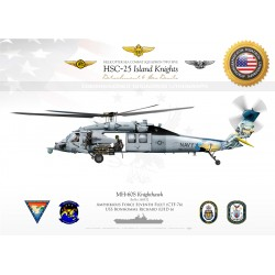 "MH-60S HSC-25 ""Island Knights"" JP-2453"