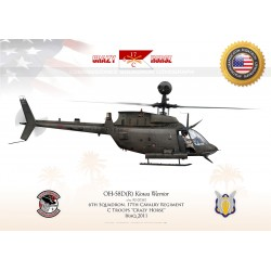 "OH-58D ""Kiowa Warrior"" USARMY C Troops ""Crazy Horse"" JP-1192"