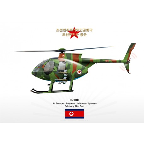 MD-500E North Korea JP-1458