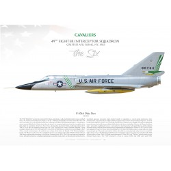 "F-106A 94th FIS ""CAVALIERS"" MB-145"