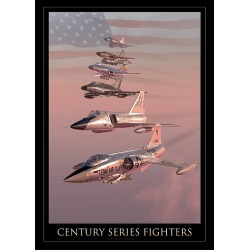 """CENTURY SERIES FIGHTERS"" MB-146"