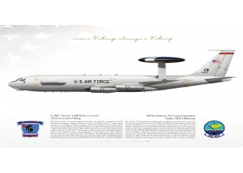 """E-3B """"Sentry"""" (AWACS) 960AACS JP-2187"""