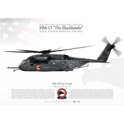 "MH-53E ""Sea Dragon"" HM-15 ""The Blackhawks JP-1965"
