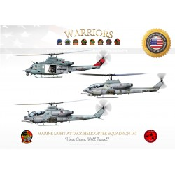 "HMLA-167 ""Warriors"" JP-3227"