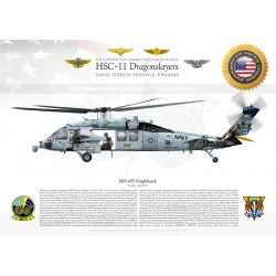 "MH-60S HSC-11 ""Dragonslayers"" JP-3352"